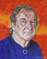 Portret van Chris Simpson uit 2011 van Hans Veen
