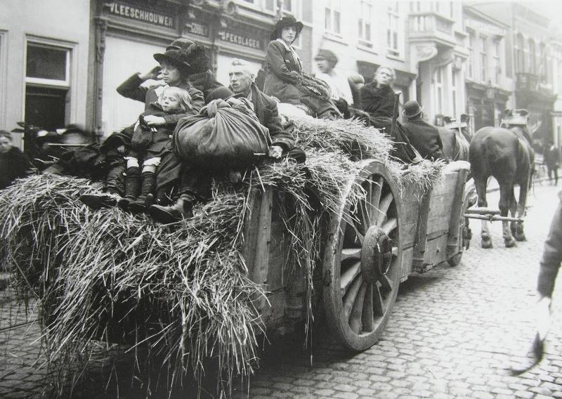 VluchBelgische Vluchtelingen 1914-1918. Bergen op Zoom