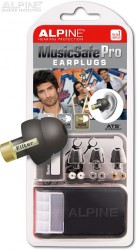 Alpine MusicSafe Pro black with earplug