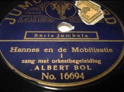 Albert Bol - Hannes en de mobilisatie