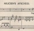 Meer liedjes over de Eerste Wereldoorlog - <em>Miliciens afscheid</em>